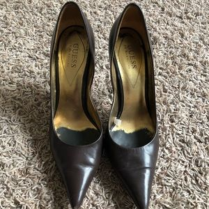 Womens Guess Brown Pump - 7.5M
